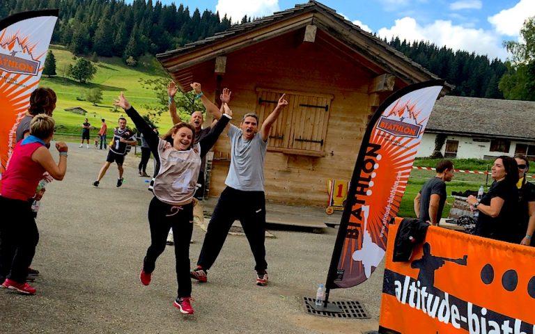 Des animations de biathlon pour les sorties d'entreprises et s'affronter par équipe et en relais. Initiation aux différents tirs. Des émotions à vivre en groupe durant un séminaire, un team building.