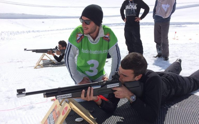 biathlon shooting challenge; enjoy new thrills with team games and relays and to engage in a friendly competition in Val d'Isère.