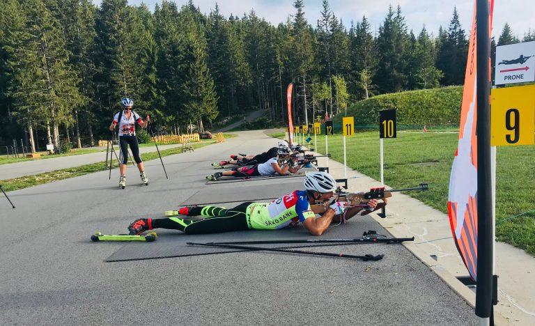 Des stages et weekend d'initiation au biathlon comme à la télé