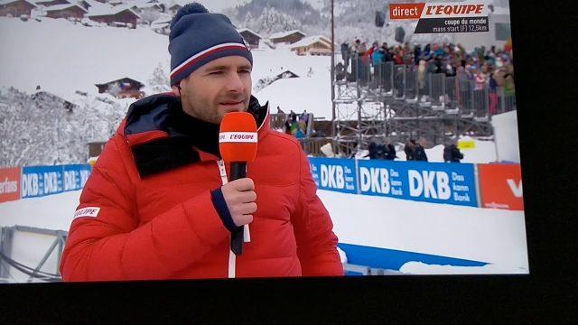 Interview du célèbre champion de biathlon raphaël Poirée
