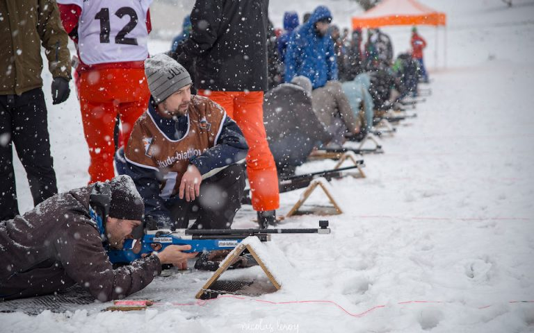 initiation et animation de biathlon pour séminaire d'entreprise