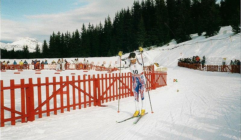 interview biathlon Hervé Flandin jeux olympiques d'Albertville 1992 -altitude biathlon