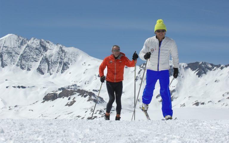 moniteur de ski de fond et ski nordique, Nicolas TERMIER donne des cours de ski pour tous les niveaux